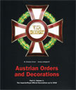 AUSTRIAN ORDERS AND DECORATIONS. PART 2 . VOL 1&2
