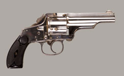MERWIN & HULBERT MEDIUM FRAME MODEL 1880 D.A. REVOLVER