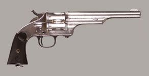 MERWIN & HULBERT LARGE FRAME SECOND MODEL 1878 S/A  ARMY REVOLVER